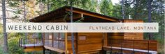 all the wonderful weekend cabins to go to!