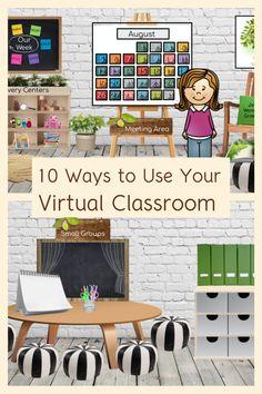 3rd Grade Classroom, School Classroom, Classroom Activities, Classroom Organization, Google Classroom, Classroom Background, Online Classroom, Teaching Technology, Blended Learning
