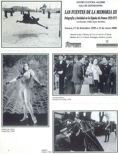 """""""Las fuentes de la memoria III: fotografía y sociedad en la España de Franco, 1939-1975"""" exposición de fotografías en el Centro Cultural Aguirre Diciembre 1999/Enero 2000 #CentroCulturalAguirreCuenca #Cuenca"""