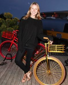 The Week in Style: Dree Hemingway at a private dinner for Martone Cycling in Montauk, New York.  Source: Matteo Prandoni/BFAnyc.com