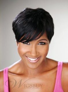 Ms Love Short Human Hair Straight Wigs For Women Human Hair Wigs Wig Brazilian Non Remy Hair Wigs - Modern Short Human Hair Wigs, Remy Hair Wigs, Human Wigs, Long Wigs, Wig Styles, Curly Hair Styles, Natural Hair Styles, Short Wigs African American, Wig Hairstyles