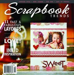 Scrapbook Trends Magazine: Feb 2011 | Northridge Publishing