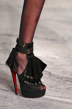 3.1 Phillip Lim Fall 2010 shoes by Christian Louboutin (Misfit)