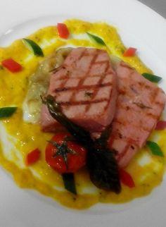 Gazpacho di tonno rosso #salento #food #ristoranti #puglia