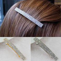 7,- Hair Slide, Asdf, Cute Hairstyles, Crystal Rhinestone, Sliders, Hair Pins, Braids, Hair Accessories, Bling
