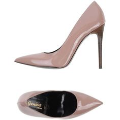 Geneve Pump ($158) ❤ liked on Polyvore featuring shoes, pumps, pastel pink, stiletto heel pumps, pink stiletto pumps, pink shoes, pastel shoes y pink pumps