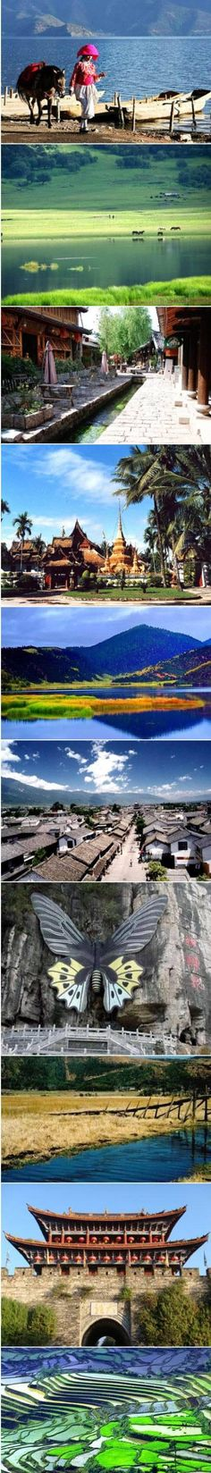 the best 10 travelling place in Yunnan