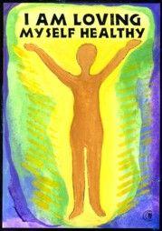 I am loving myself healthy....FANTASTIC mantra. I'll be using this.