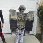 Awesome Homemade DIY Transforming Tank Costume | Inhabitots Green Halloween Costume Contest