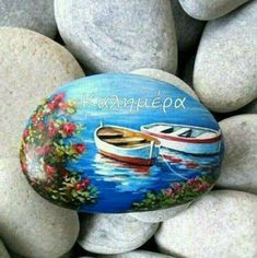 Good Morning Good Night, Good Morning Quotes, Rock Painting Designs, Stone Mosaic, Ancient Greece, Stone Art, Rock Art, Mom And Dad, Painted Rocks