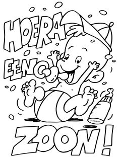Coloring for adults - Kleuren voor volwassenen Adult Coloring, Coloring Pages, Baby Silhouette, Black And White Sketches, Babys, Photos, Baby Shower, Stamp, Scrapbook