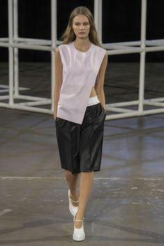 Please give me those white shoes! *dies* Alexander Wang | Spring 2014 Ready-to-Wear Collection | Style.com