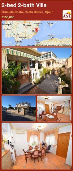2-bed 2-bath Villa in Orihuela Costa, Costa Blanca, Spain ►€155,000 #PropertyForSaleInSpain