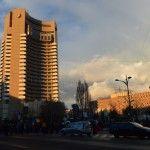 Intercontinental hotel in Bucharest