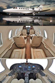 2004 Citation For Sale! Luxury Jets, Luxury Private Jets, Gulfstream G650, Aircraft Interiors, Cabin Interiors, Aircraft Design, Military Vehicles, Transportation, Aviation