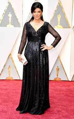 Shohreh Aghdashloo from Oscars 2017 Red Carpet Arrivals