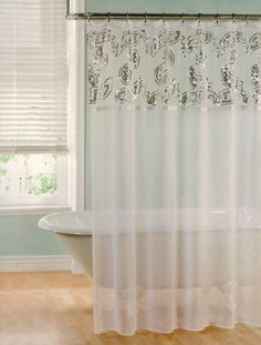 Gallery For Sheer Shower Curtain