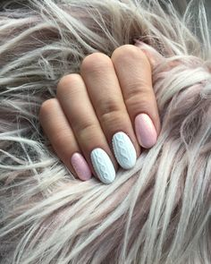 #nails #knittednails #fallnails #winternails #mermaiddust