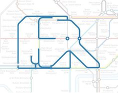 Elephant & Castle the Elephant.   22 Animals Who've Been Hiding Out In The London Underground Map
