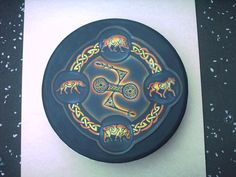 pictish double disc and z rod with pictish animal symbols