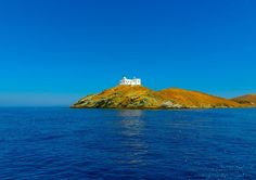 The first island you meet if you cruise out of Athens or Lavrion is  The island is beautiful and has CRYSTAL CLEAR WATERS! Yacht Vacations, Charter Boat, Greece Islands, Crystal Clear Water, Mykonos, Athens, Monument Valley, Cruise, Greek