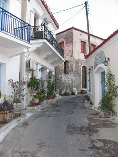 Poros 2012. A back road well travelled.