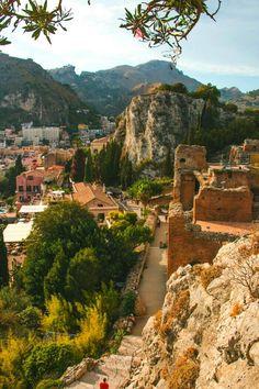 #Taormina, #Sicily, #Italy