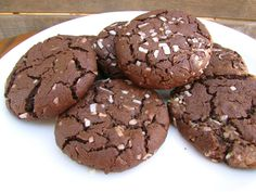 Dark Chocolate Coconut Cookie Recipe • CakeJournal.com