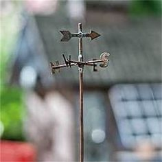 Miniature Fairy Garden Weathervane