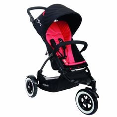 Phil & Teds DOT Buggy Stroller - Chili