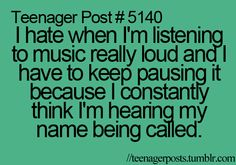 teenager post...