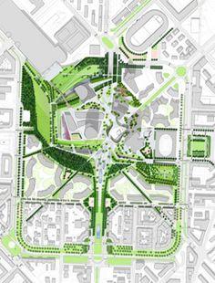 """Результаты поиска изображений по запросу """"small park design plan"""""""