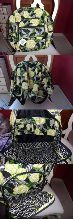 Mixed Items and Lots 169303: Vera Bradley Campus Backpack In La Neon Rose Pattern -> BUY IT NOW ONLY: $62.5 on eBay!