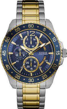 92600GPGSBA1 Relógio Masculino Bicolor Guess Multifunção | Guest Club