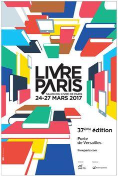 Salon Livre Paris 2017 : Voici l'affiche !