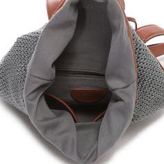 アンチフォルムデザイン Anti-Forme Design レーヨン口折れリュック(グレー) -靴とファッションの通販サイト ロコンド