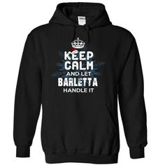 Keep Calm and Let BARLETTA Handle It - #awesome tee #sweatshirt women. CHECK PRICE => https://www.sunfrog.com/Christmas/Keep-Calm-and-Let-BARLETTA-Handle-It-fbcfj-Black-5523039-Hoodie.html?68278
