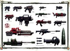 40K Weapons part 1