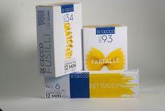 De Cecco Packaging by Jeffrey Iacoboni, via Behance