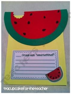 """Father's Day Watermelon- You are """"one in a melon,"""" """"seed-sational"""""""