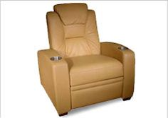 Microfiber Home Theater Seating | Home Theater Seating in Fabric | Fabric Theater Seats | Skin Microfiber Home Theater Seat