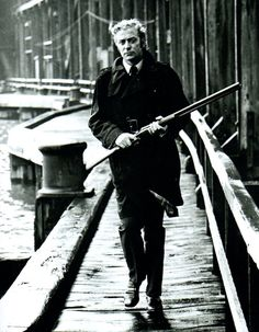 "Michael Caine en ""Asesino Implacable"" (Get Carter), 1971"