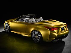 LEXUS - Concept cars and galleries Lexus Lc, Lexus Cars, Lexus Convertible, Hot Cars, Concept Cars, Subaru, Race Cars, Nissan, Super Cars