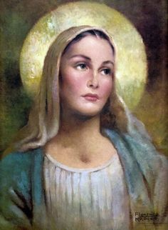 Blessed Virgin Mary, chosen by God to carry our Sweet Lord. We honor you, as your Son honors you.
