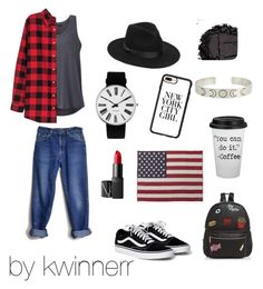 """""""for you"""" by kwinnerr on Polyvore featuring beauty, Lee, prAna, Lack of Color, Rosendahl, NARS Cosmetics, Ollie & B, Faribault Woolen Mill Co., H&M and Casetify"""