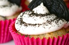 Cookies and Cream Cupcakes  http://www.electricmaninc.com/