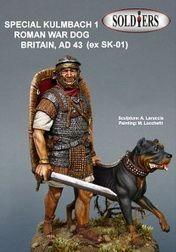 Roman with war dog.