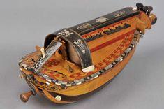 Vielle a roue, 1875-1900