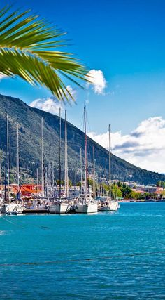 Nydri harbour in Lefkada island, Greece | 25 Gorgeous Pictures Of Greece That…