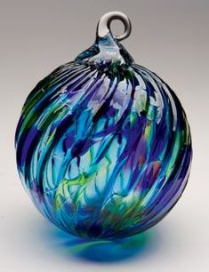 The Pacific Northwest Shop-- glass, hand blown ornaments made from Mt.Saint Helens ash.